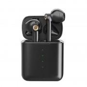HD-S16 TWS Bluetooth 5.0 HIFI Sound Quality Wireless Headphones with Charging Bin - Black