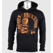 kapucnis pulóver férfi - DESTROY - METAL MULISHA - M345S21301.01_BLK