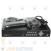 DVR 8 Canali H.264 SecTec ST-DVR8708H VGA HDMI Cloud Lan