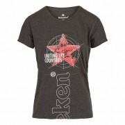 Heineken Is today the day that calls for Netflix, or is there a party vibe in the air? No matter what the mood is, the setting is always right for Heineken apparel. Now you can rock this 100% cotton women's crew neck tee shirt with confidence and full