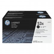 Консуматив HP 53X Black Dual Pack LaserJet Toner Cartridges