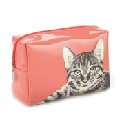 Catseye - Etching Cat Large Beauty Bag