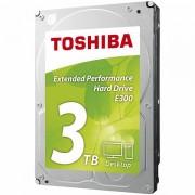 HDD desktop Toshiba E300 3.5 3TB, 64MB, AF, SATAIII, bulk HDWA130UZSVA