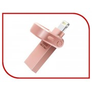 USB Flash Drive 128Gb A-Data i-Memory AI920 Lightning to USB 3.1 Pink AAI920-128G-CRG