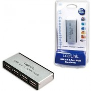 USB HUB 4xUSB2.0, Ext. power, LogiLink UA0003