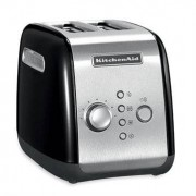 kitchenaid Grille-pain 2 tranches noir 5KMT221EOB kitchenaid