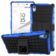 Capa Híbrida Anti-Deslizante para Sony Xperia Z5, Xperia Z5 Dual - Preto / Azul