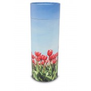 Grote Bio Eco Urn of As-strooikoker Tulpen (3 liter)