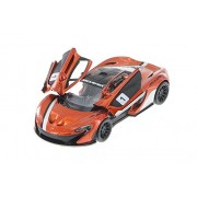 Kinsmart 1:36 Scale Die-Cast McLaren P1 with Printing with Openable Doors & Pull Back Action