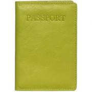 Calfnero Genuine Leather Passport Wallet