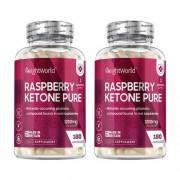 WeightWorld Framboos ketonen puur - 180 capsules voor 2 maanden voor een verbeterde stofwisseling
