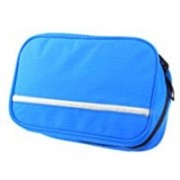 Mei&Ge Multi-Functional Waterproof Compact Hanging Cosmetic Pouch toiletries kit Make up Organizer Travel Bag (Blue) Travel Toiletry Kit(Blue)