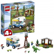Lego Toy Story 4 RV Vacation Truck with Jessie, Alien, Rex and Fork...