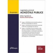 Legislatia privind achizitiile publice. Actualizata 3 iulie 2018