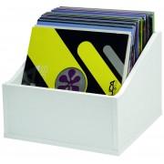 Glorious Record Storage Box Advanced 110 White