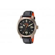 Hugo Boss Orange Cape Town Black Leather Strap Men's Watch - 1513409