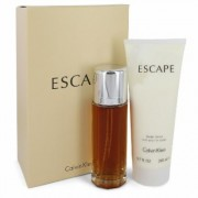 Escape For Women By Calvin Klein Gift Set - 3.4 Oz Eau De Parfum Spray + 6.7 Oz Body Lotion --