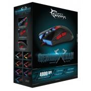 Mouse Gaming USB 4800dpi 6 Tasti Nero Genghis Khan GM-1603B
