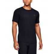 Under Armour RUSH HeatGear Fitted - T-shirt - Svart - XL