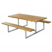 Plus Danmark Picknickset lariks geolied Basic 160 x 177 x 73 cm