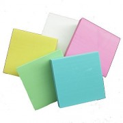 Generic 5pcs Square Rubber Stamp Carving Blocks For Stamps
