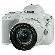 Canon EOS 200D 18-55 IS STM WH White bijeli DSLR Digitalni fotoaparat i standardni zoom objektiv EF-S 18-55mm f/4-5.6 2253C001AA 2253C001AA