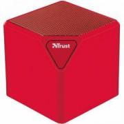 Портативна колона TRUST Ziva UR, wireless speaker, Червена, 21717