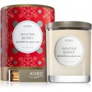 KOBO Holiday Winter Berry vonná svíčka 312 g