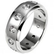 J. Goodin CZ Rock Eternity Band Ring STR0105VM-C01