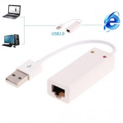 Hexin 100/1000Mhps Base-T USB 2.0 LAN Adapter Card for Tablet / PC / Apple Macbook Air Support Windows / Linux / MAC OS