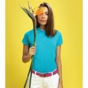 Women's Classic Fit Cotton Polo Slate