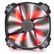 Вентилатор 200mm, DeepCool XFAN 200RD, 700rpm, Red LED