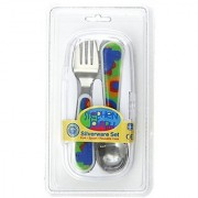 Stephen Joseph Fork and Spoon Set Dino