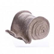 Dekoráció textil bézs 2m