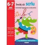 Activitati ingenioase si educative Invat sa scriu 6-7 ani