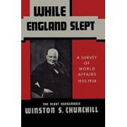 While England Slept by Winston Churchill: A Survey of World Affairs 1932-1938, Paperback/Winston S. Churchill
