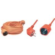 Hálózati hosszabbító 20m narancs NV 2-20/OR