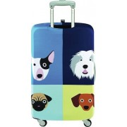 LOQI Pokrowiec na walizkę LOQI Stephen Cheetham Dogs