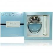 Bulgari blu ii 25 ml eau de parfum edp spray profumo donna con borsetta in raso