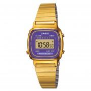 Reloj Casio Pulso Vintage Digital LA670WGA-6DF-Dorado