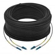 100M Duplex Single Mode UPC LC-LC Fiber Optic Cable Fiber Patch Cord Outdoor Drop Cable