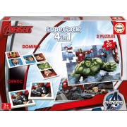 Puzzle Educa - Marvel Avengers, 2x25 piese (16692)