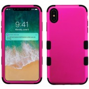 Funda Case Iphone Xs Max protector Uso Rudo Tuff - Rosa