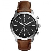 Fossil Analog Black Dial Mens Watch-FS5280