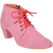 Exotique Women's Pink Casual Boot (EL0040PK)