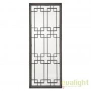 Oglinda decorativa cu rama din nickel negru Mota 109556 HZ