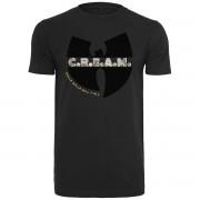 Wu-wear HipHop skjorta - C.R.E.A.M. Black Svart XS