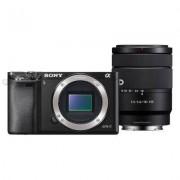 Sony Aparat SONY Alpha A6000 (ILCE-6000) + obiektyw 18-135 mm Czarny