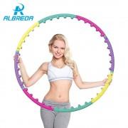 ALBREDA New arrival magnet fitness hula hoop massage hoops hula-hoop for children kid bodybuilding for women hoops Free shipping
