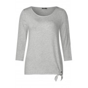 STREET ONE Soft shirt Femke - cyber grey melange